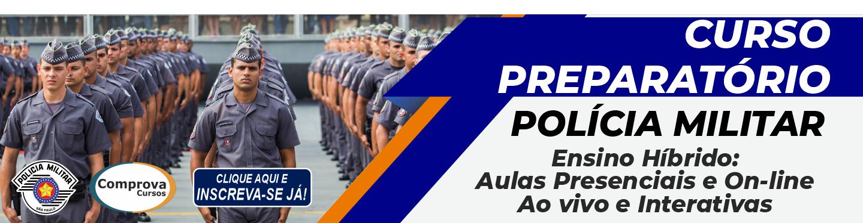 Curso Preparatório para o Concurso Público da Polícia Militar